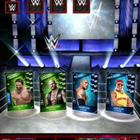 WWE SuperCard ring