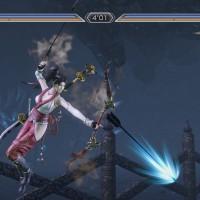 Momochi dans Warriors Orochi 3 Ultimate