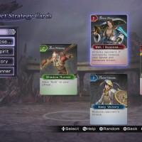 Menu Duel Warriors Orochi 3 Ultimate
