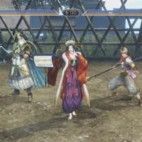 Groupe personnages en mode Duel dans Warriors Orochi 3 Ultimate