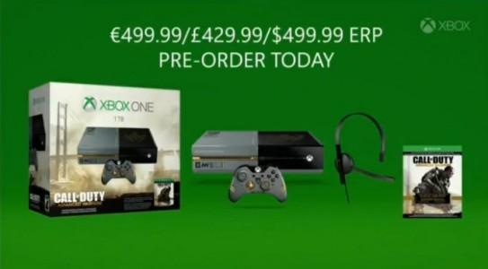Pack Xbox One Call of Duty : Advanced Warfare