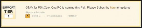 Grand Theft Auto V reponse