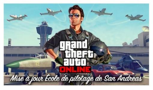 GTA Online l'école de pilotage de San Andreas
