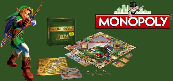 Contenu du Monopoly The Legend of Zelda