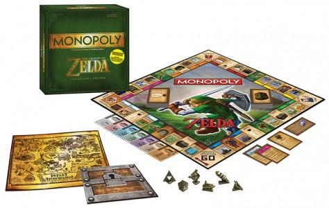Contenu de l'edition collector Monopoly The Legend of Zelda