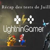 Lightningamer Récap Juillet