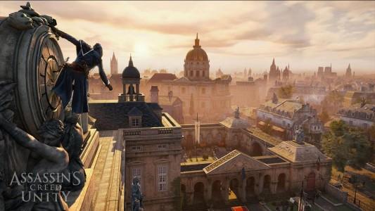 Assassin's Creed Unity les toits de Paris