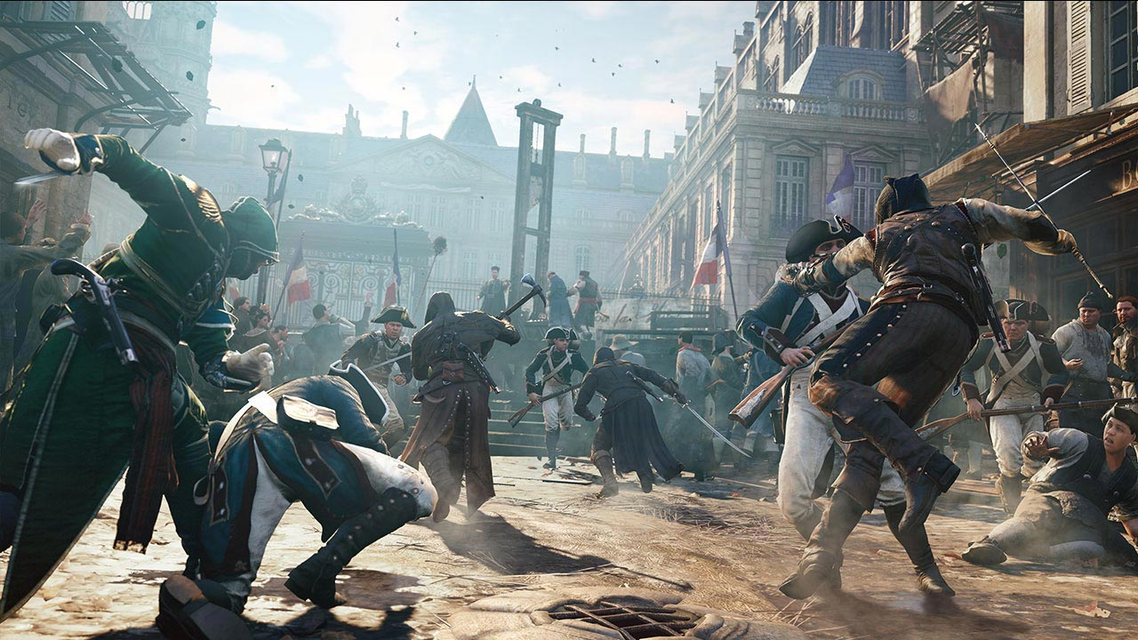 Assassin's Creed Unity le Projet Widow 23