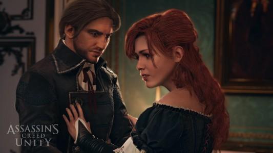 Arno et Elise Assassin's Creed Unity