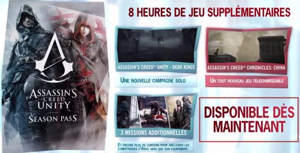 Assassins's Creed Unity Season Pass