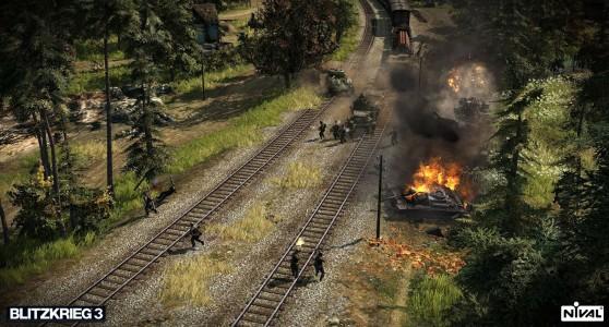 Blitzkrieg 3 bataille