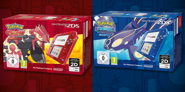 Annonce Nintendo pack 2DS
