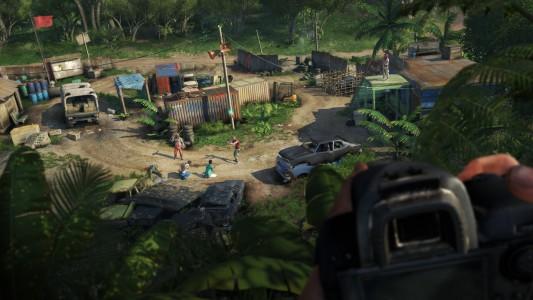 Far Cry 3 camp