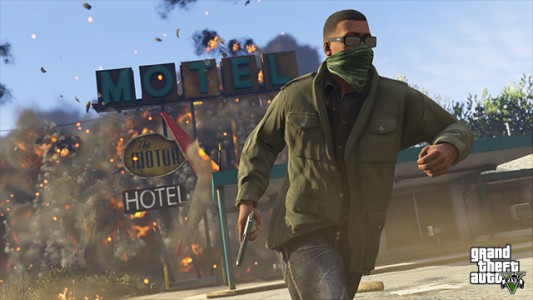 Grand Theft Auto V sur PlayStation 4, Xbox One, et PC