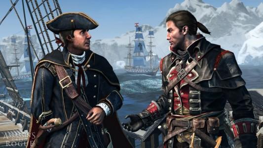Assassin's Creed Rogue  Haytham Kenway  et Shay  Cormac