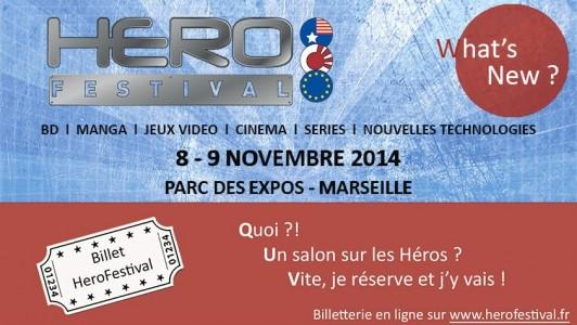 Hero Festival affiche
