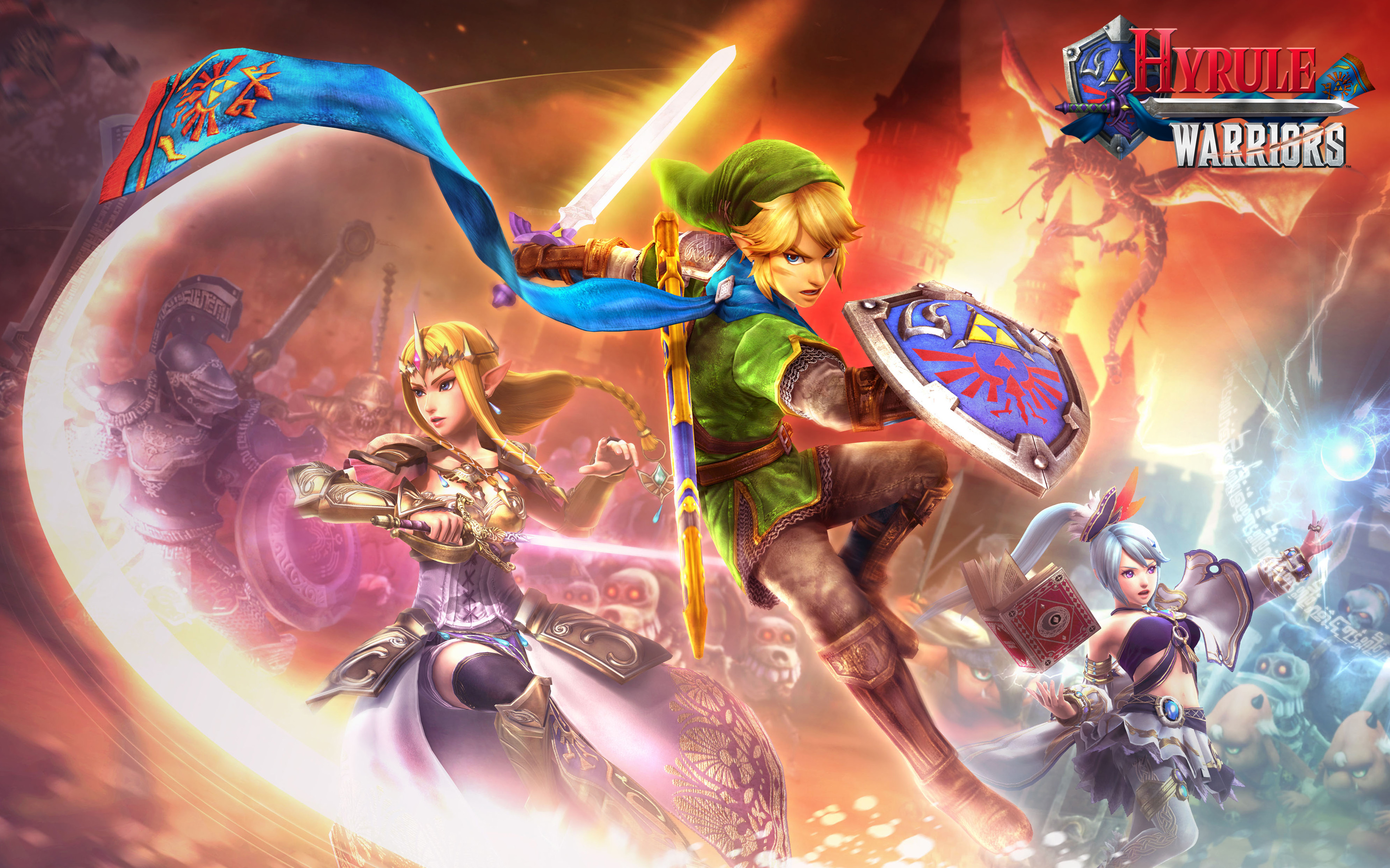 Couverture Hyrule Warriors