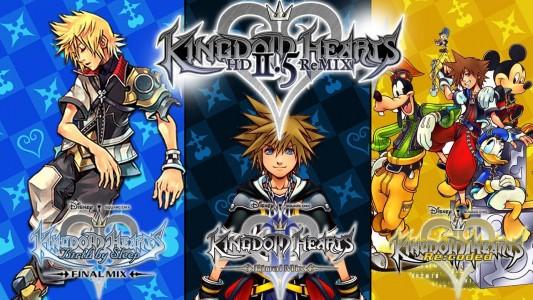 Kingdom Hearts HD 2.5 Remix personnages principaux