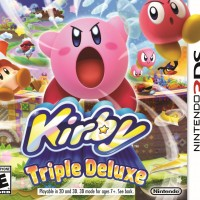 Kirby Triple Deluxe jaquette