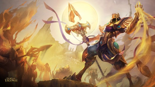 League of Legends Shurima Lightningamer