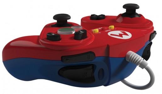 Manette Fight Pad pour Wii U Mario arrière