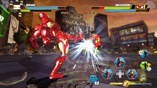 Marvel Avengers Battle for Earth Iron Man