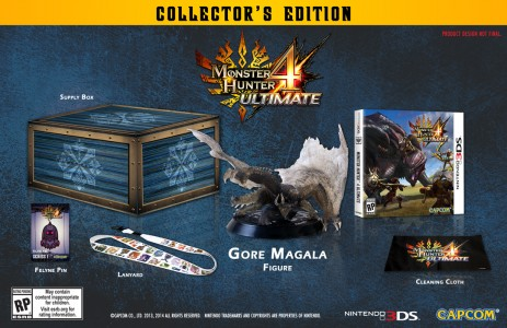Monster Hunter 4 Ultimate contenu édition collector