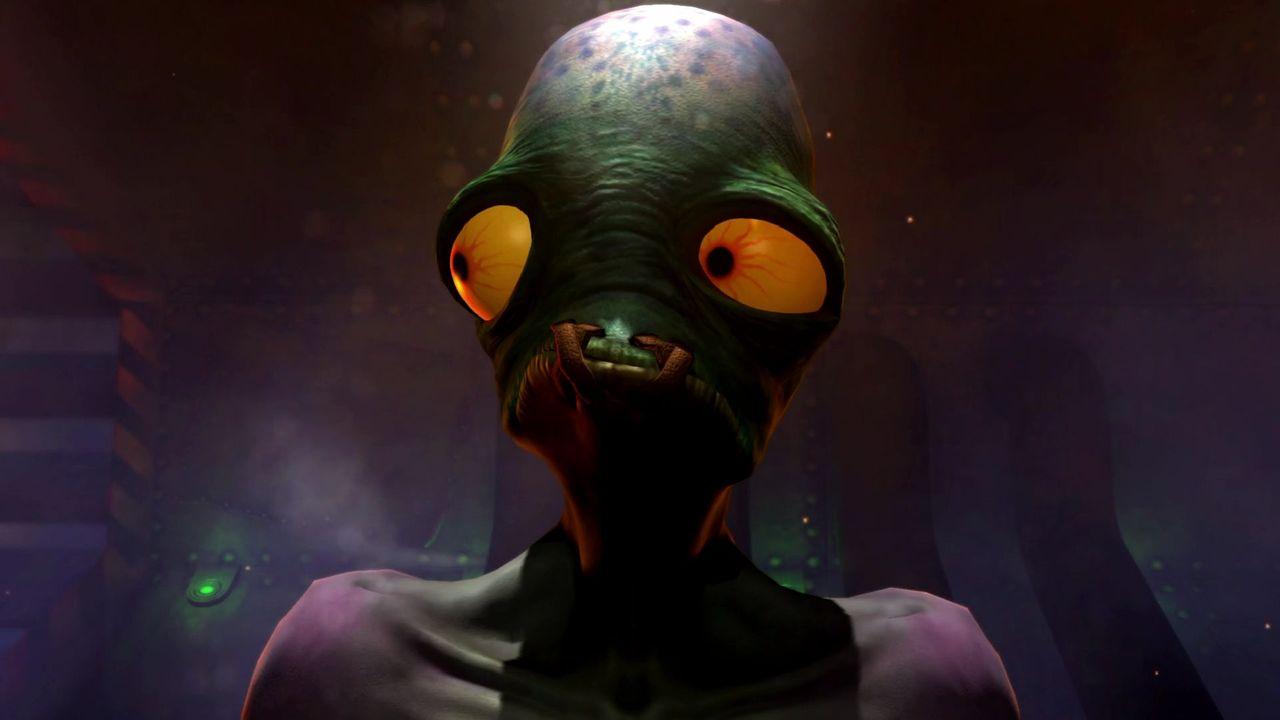 Oddworld Soulstorm Abe gros plan