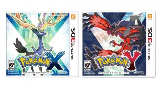 Pokemon X et Y jaquettes