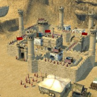 Chateau de Stronghold Crusader 2