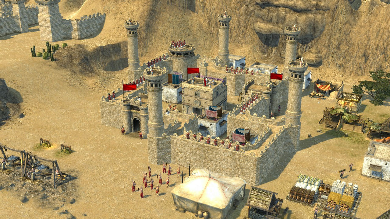 Chateau de Stronghold Crusader 2