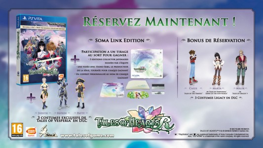 Tales of Heart R Soma Link Edition