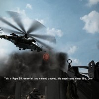 Heavy Fire Afghanistan hélicoptère