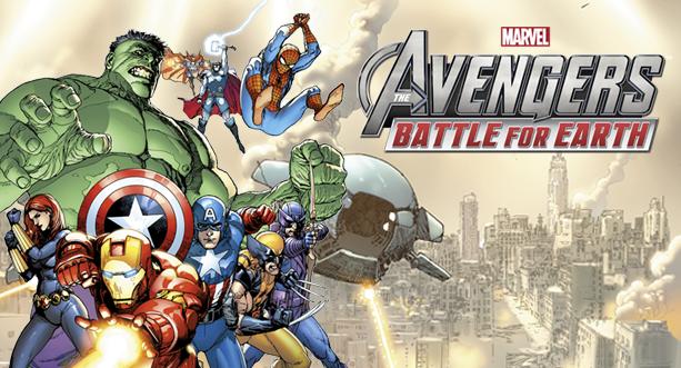 Test Marvel Avengers Battle for Earth Titre