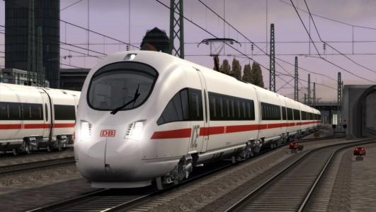 Train Simulator 2015 train en gare