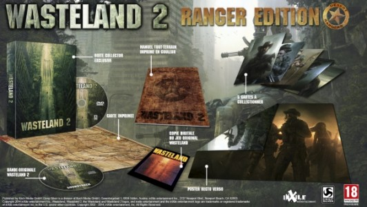 Wasteland 2 édition collector