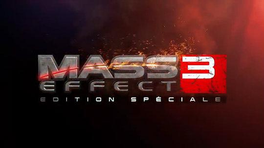 mass effect 3 édition spéciale titre