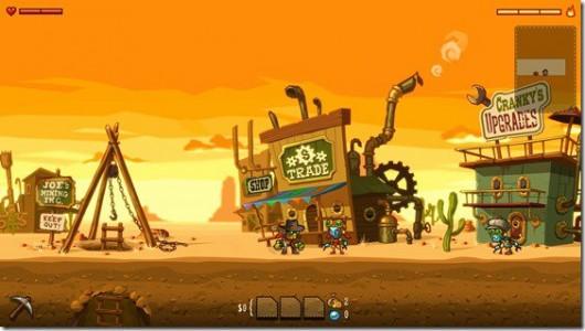 SteamWolrd Dig : A Fistful of Dirt Tumbleton