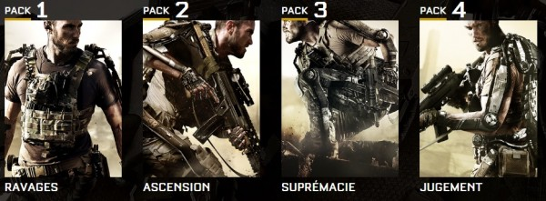 Call of Duty  Advanced Warfare 4 pack DLC
