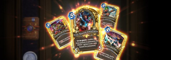 Nouvelle extension d'hearthstone