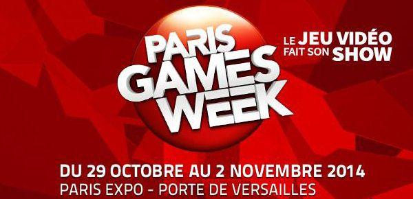 Affiche Paris Games Week 2014