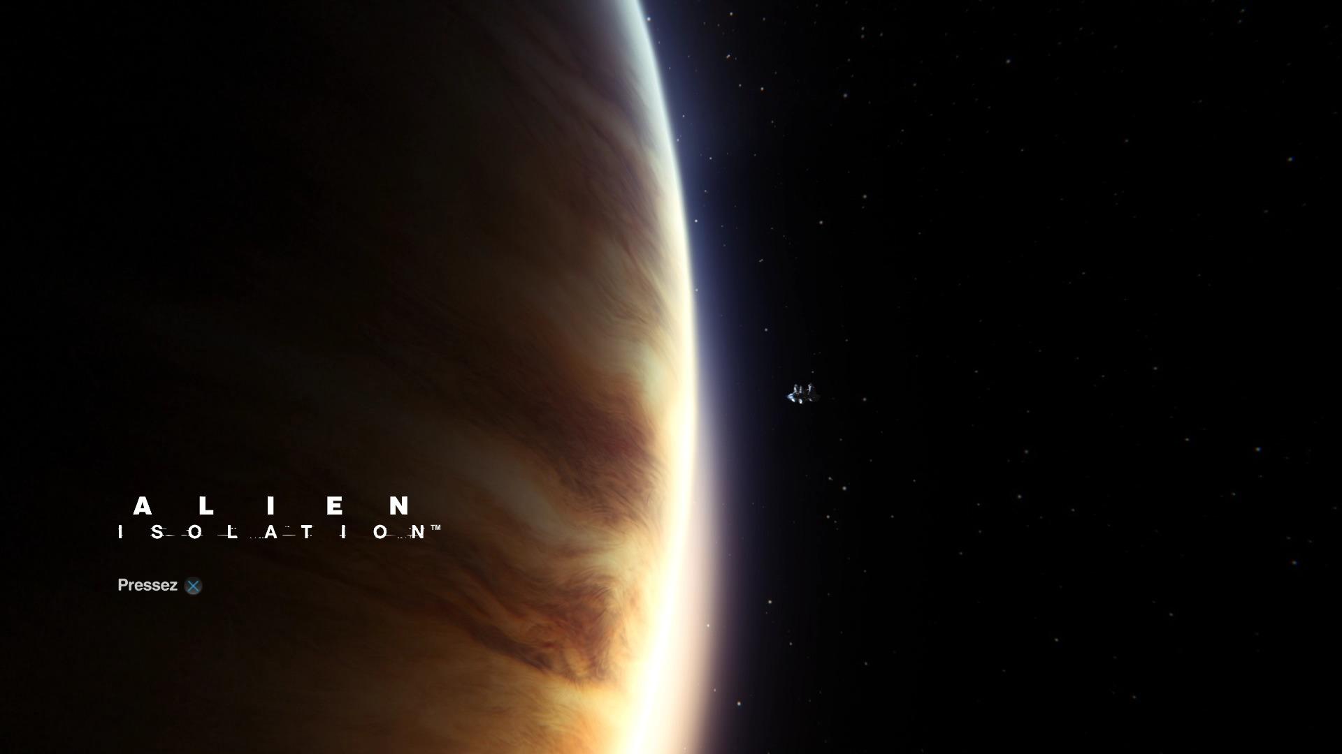 Alien Isolation Titre PS4