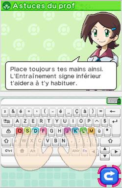 Apprends avec Pokémon à la conquête du clavie Astuce