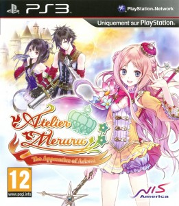 Atelier Meruru The Apprentice of Arland jaquette