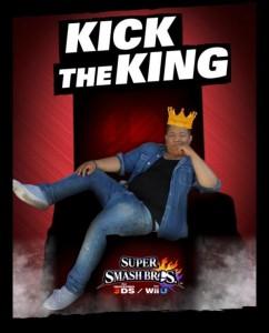 King Super Smash Bros affiche