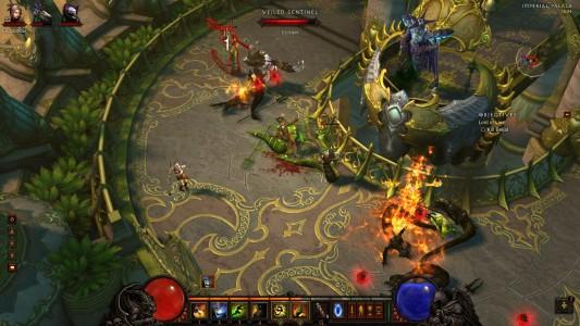 Bataille intense Diablo 3