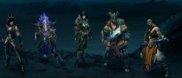 Diablo 3 personnages