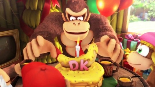 Donkey Kong Titre