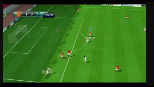 FIFA 13 Wii match