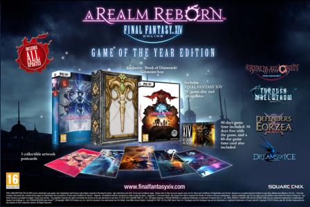Final Fantasy XIV A Realm Reborn GOTY